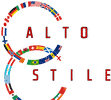 alto stile world flags logo