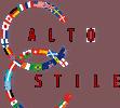 alto stile world flags logo