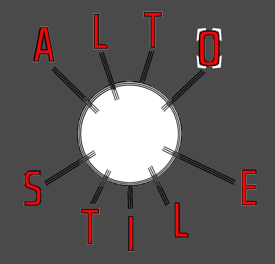 Vintage furniture London Alto Stile sputnik logo