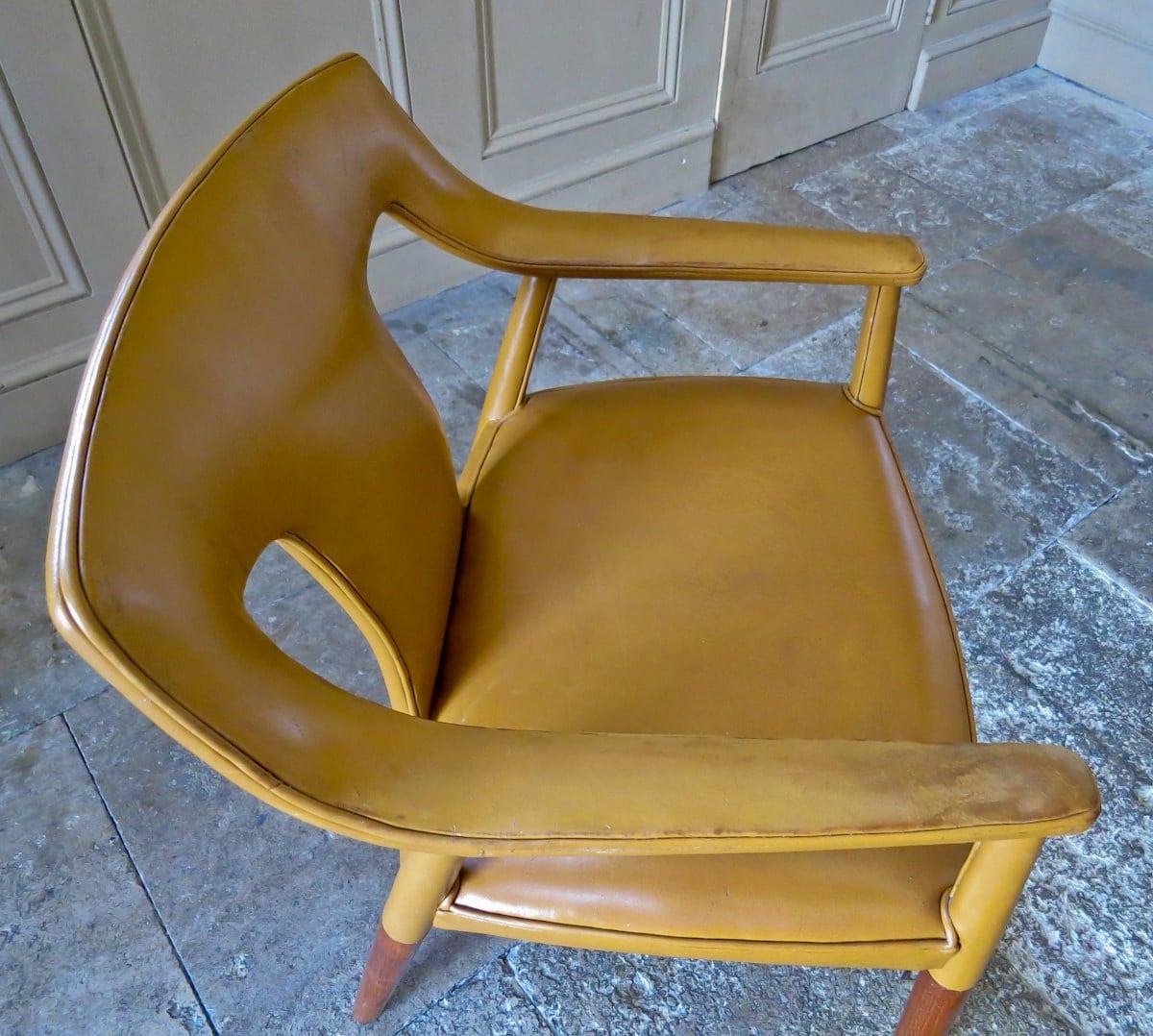 Bender Madsen Pontoppidan Danish armchair 1950's