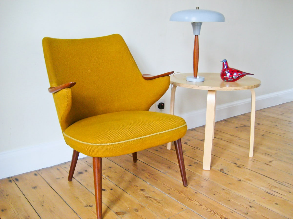Mid century furniture London armchair 1950's teak