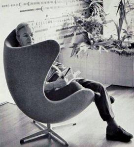 Arne Jacobsen Egg chair Danish 1950