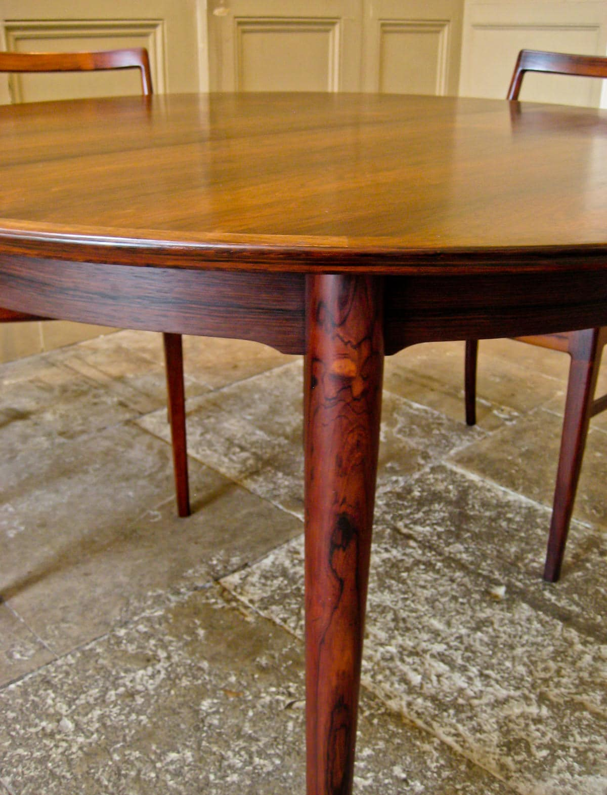 Mid century dining table & chairs Arne Vodder rosewood