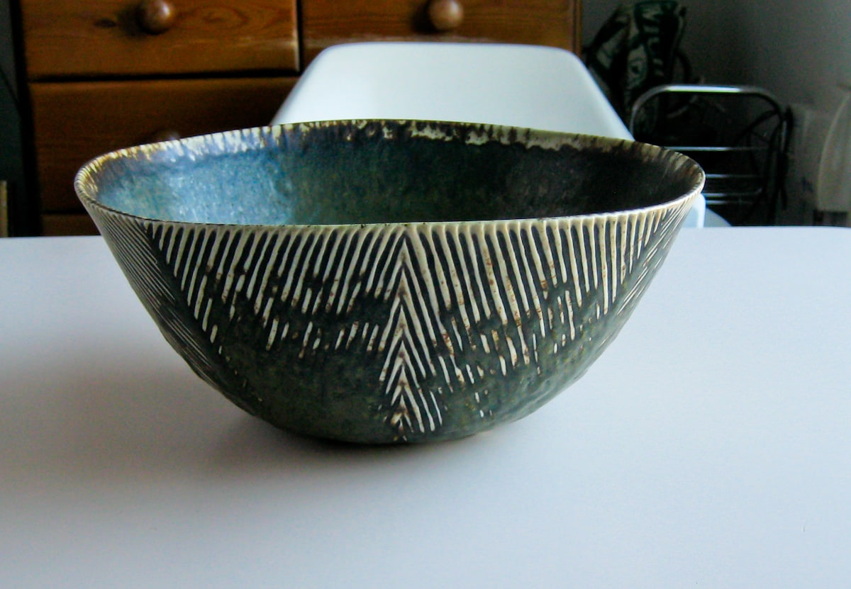 Axel Salto Bowl Royal Copenhagen Danish 1950's