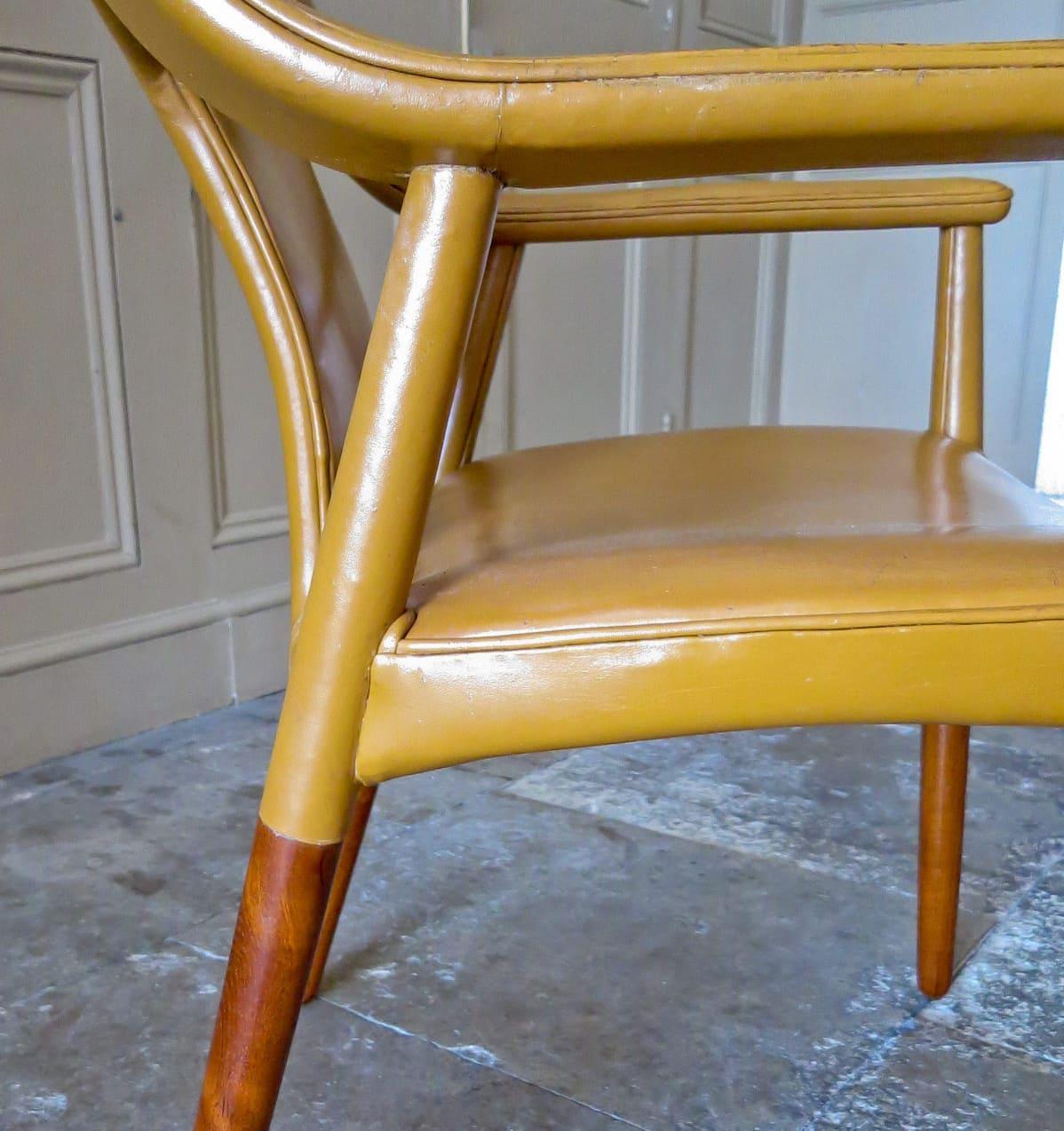 Bender Madsen Larsen mid century armchair Danish 1950's