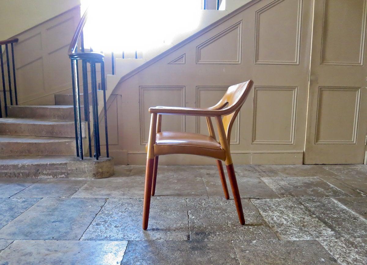 Bender Madsen Danish armchair Pontoppidan 1950's