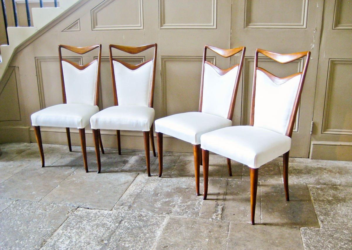 Carlo Di Carli Vintage Dining Chairs Italian Design