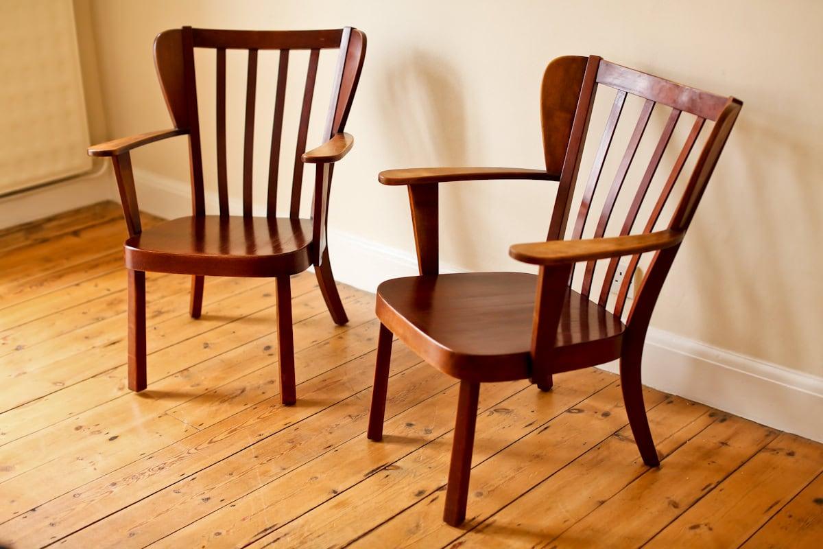 Canada chair Fritz Hansen armchair 1940's