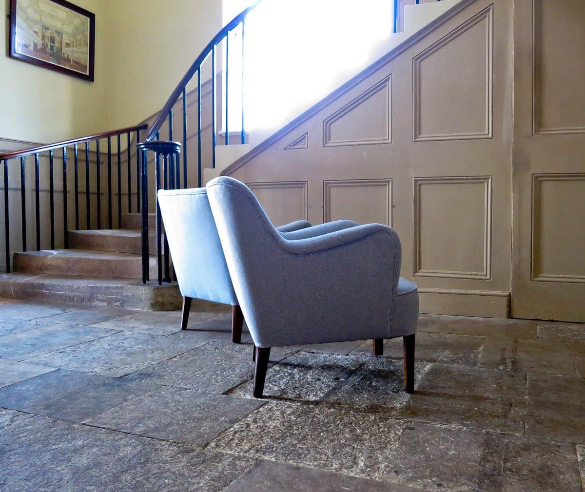 Hvidt Molgaard Nielsen Danish furniture UK armchair