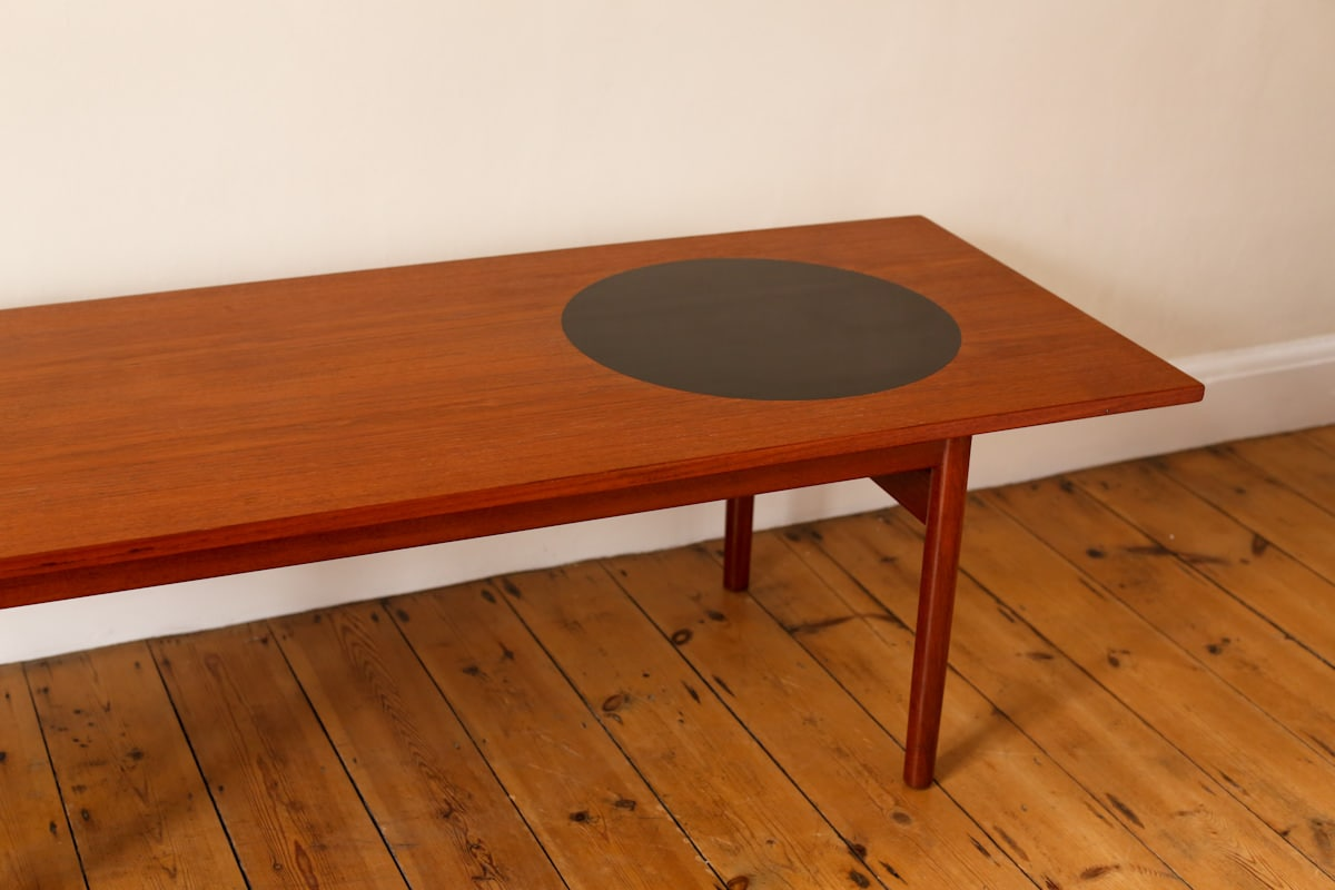 Danish coffee table Greta Jalk teak