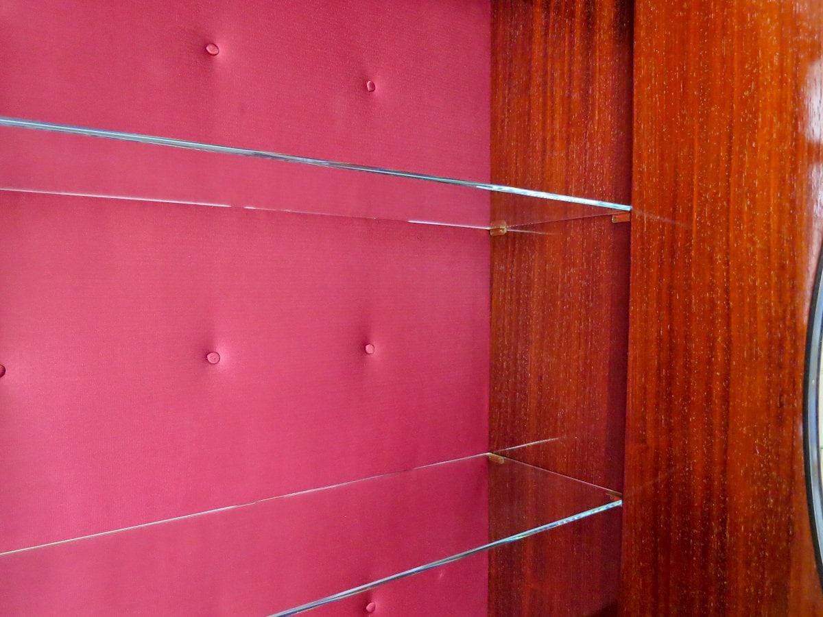 Paolo Buffa trumeau cabinet Italian design 1950's