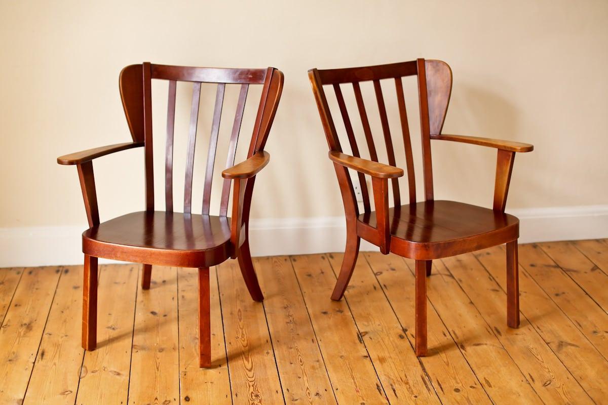 Fritz Hansen armchair Canada chairs 1940's