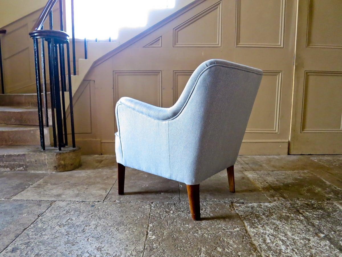 Hvidt Molgaard Fritz Hansen Danish armchair 1950's