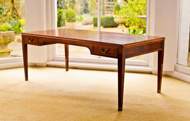Fritz Henningsen Danish coffee table in rosewood 1950's