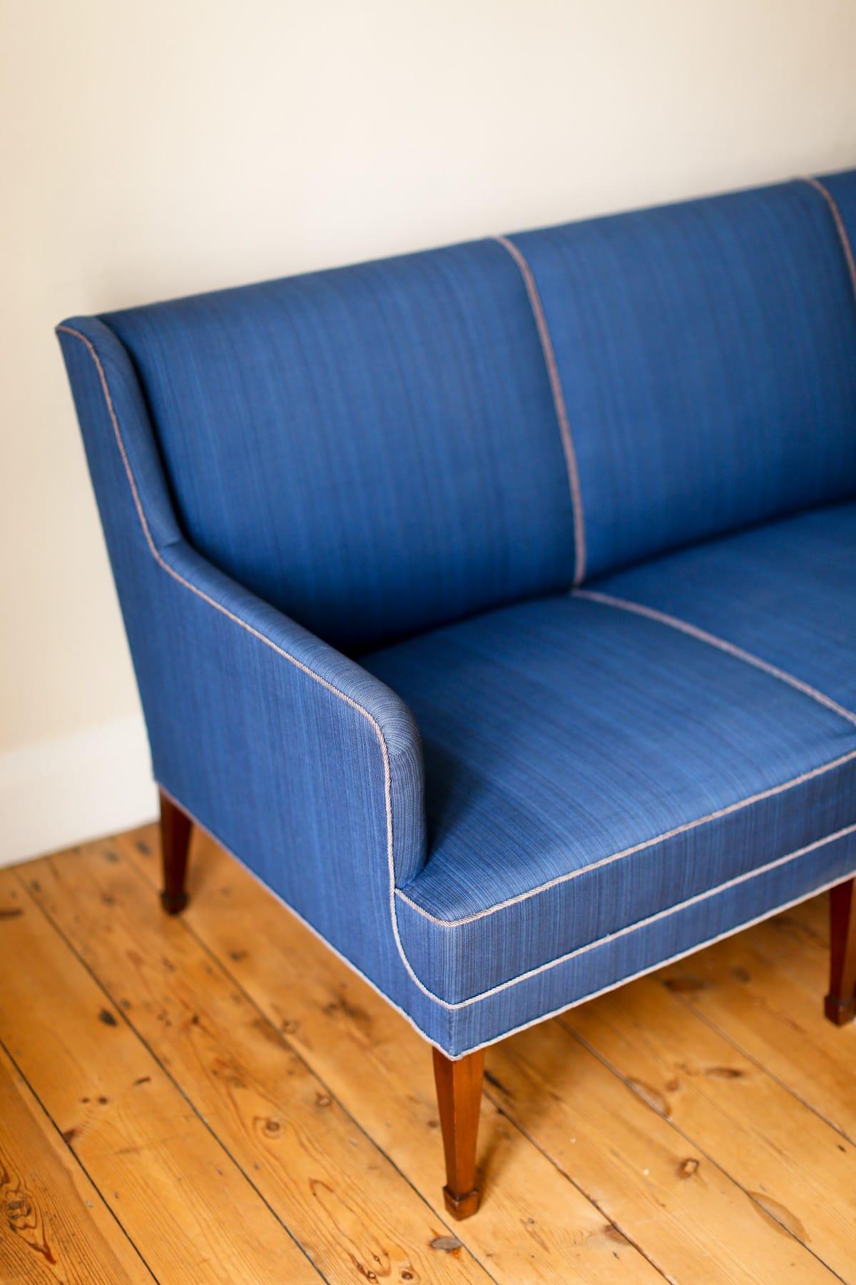 Mid century design Fritz Henningsen sofa Danish 1950's