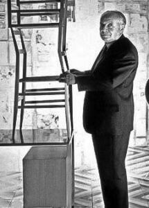 Gio Ponti chair Italian design supperleggera 1950