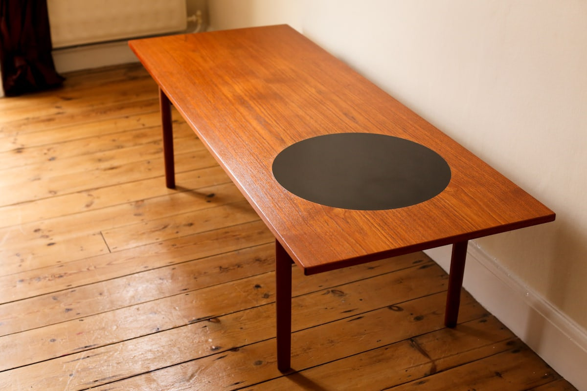 Greta Jalk coffee table Danish modern teak