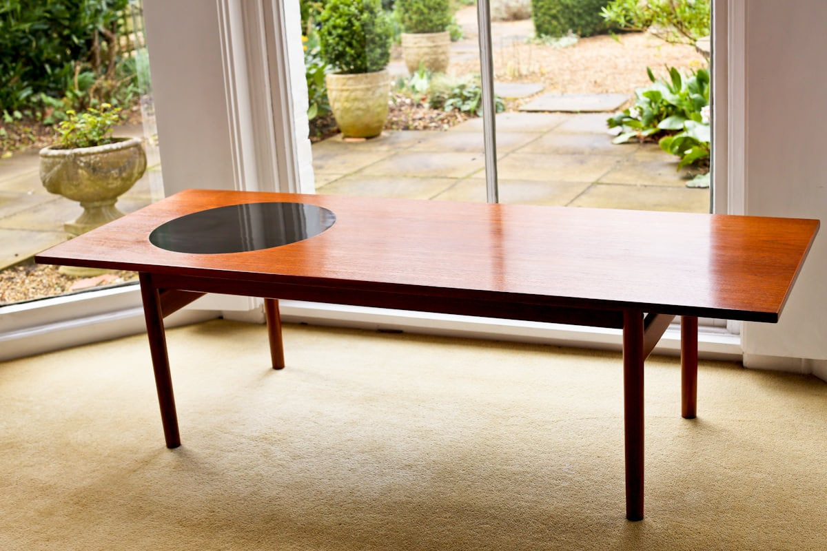 Greta Jalk Danish teak coffee table
