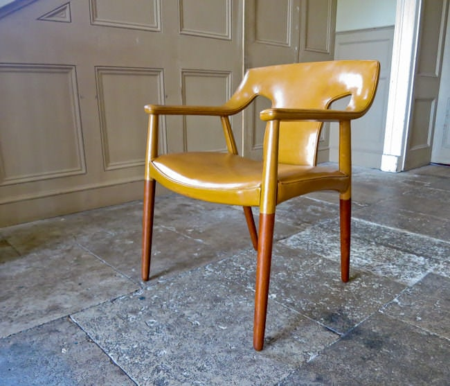 Ejner Larsen & Axel Bender Madsen chair Danish furniture 1950's