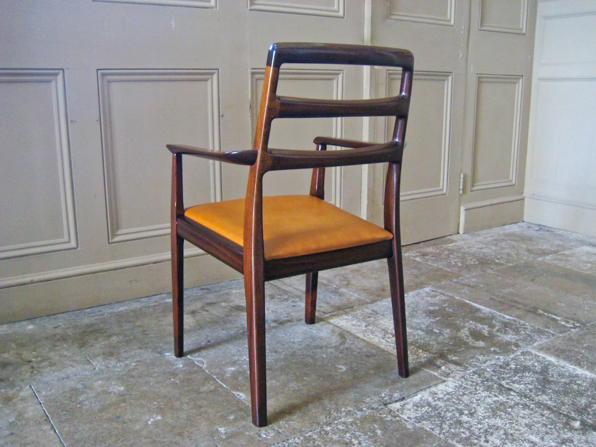 H.W.Klein Bramin dining chairs mahogany set