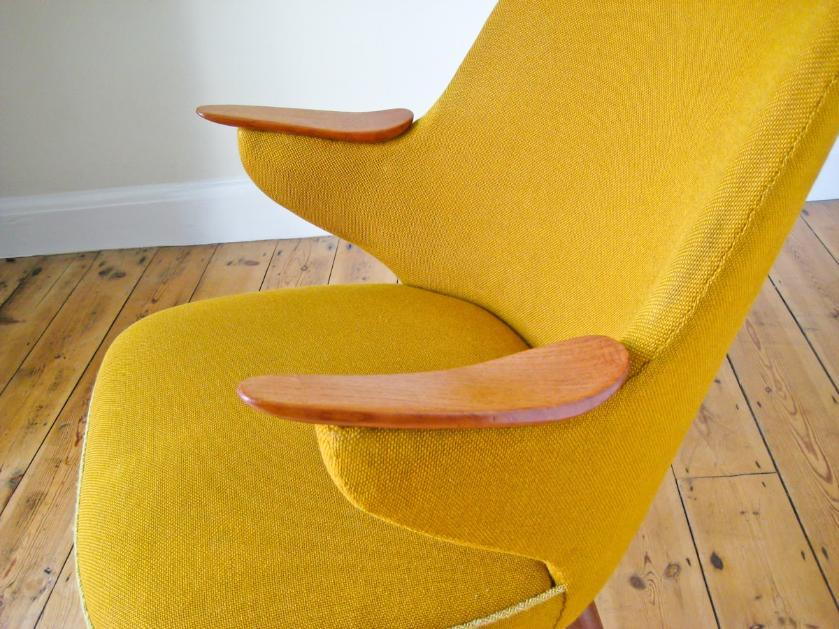 Mid century furniture London armchair 1950's