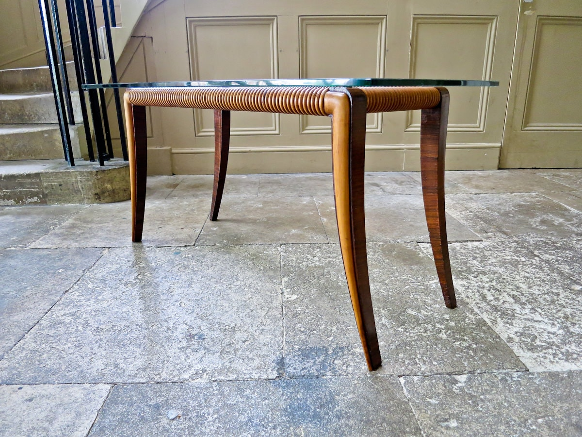 Italian design Paolo Buffa coffee table 1950's