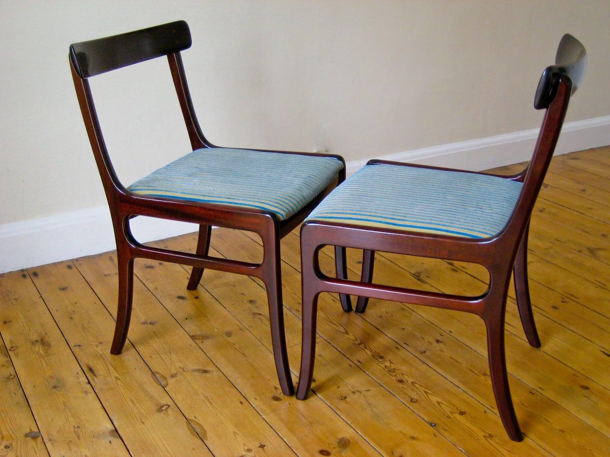 Ole wanscher p jeppesen mid century chair alto stile for P jeppesen furniture