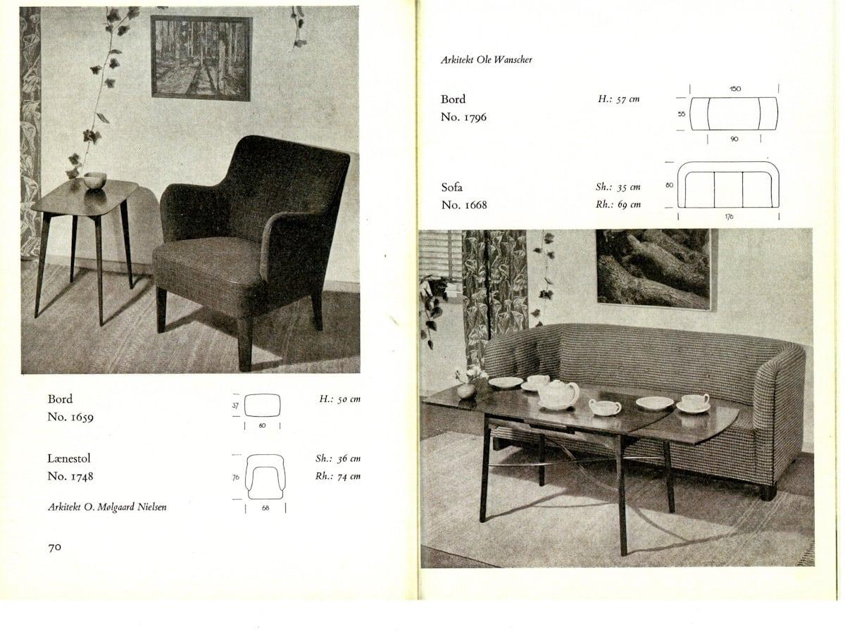 Fritz Hansen catalogue Molgaard Nielsen
