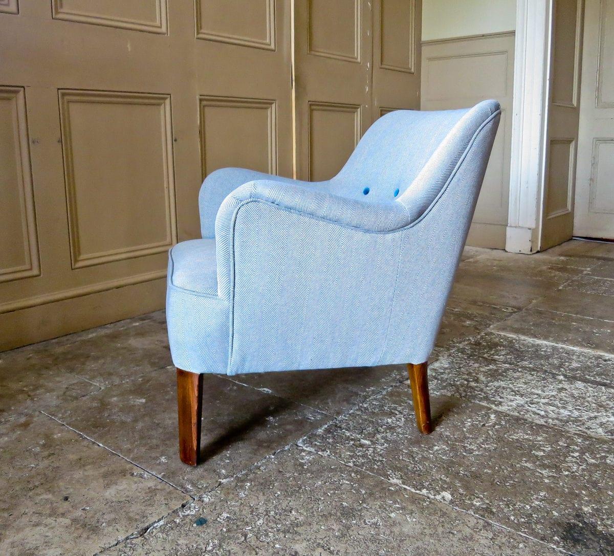 Molgaard Nielsen Danish armchair Fritz Hansen 1950's