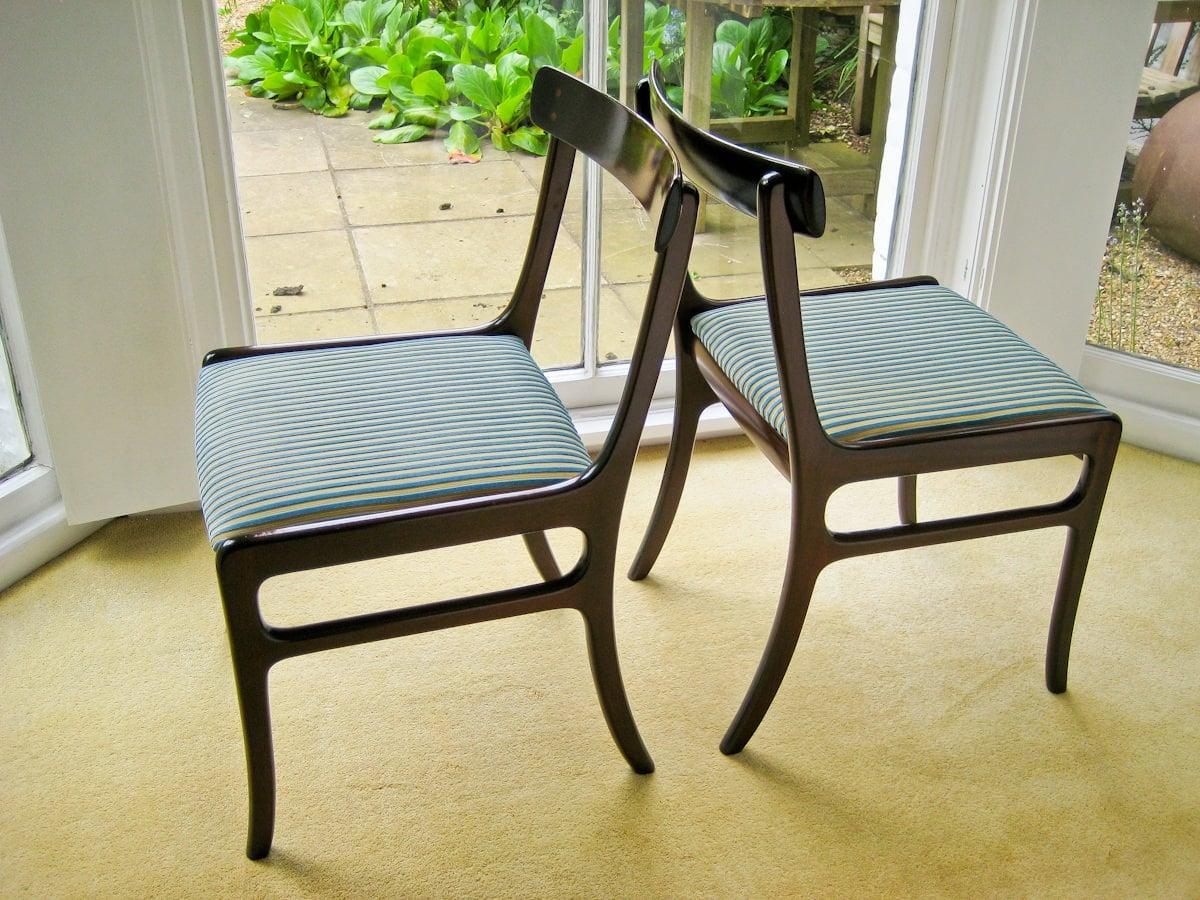 P. Jeppesen Ole Wanscher chair mahogany