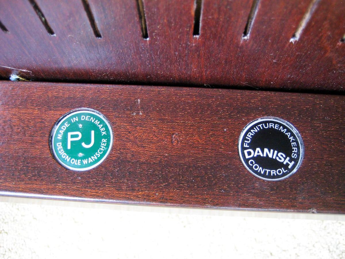P jeppesen danish furniture ole wanscher chair alto stile for P jeppesen furniture