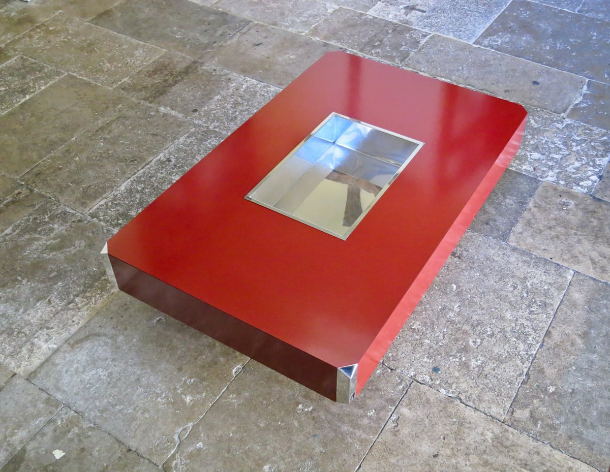 Coffee table Will Rizzo Mario Sabot Italian design 1970's