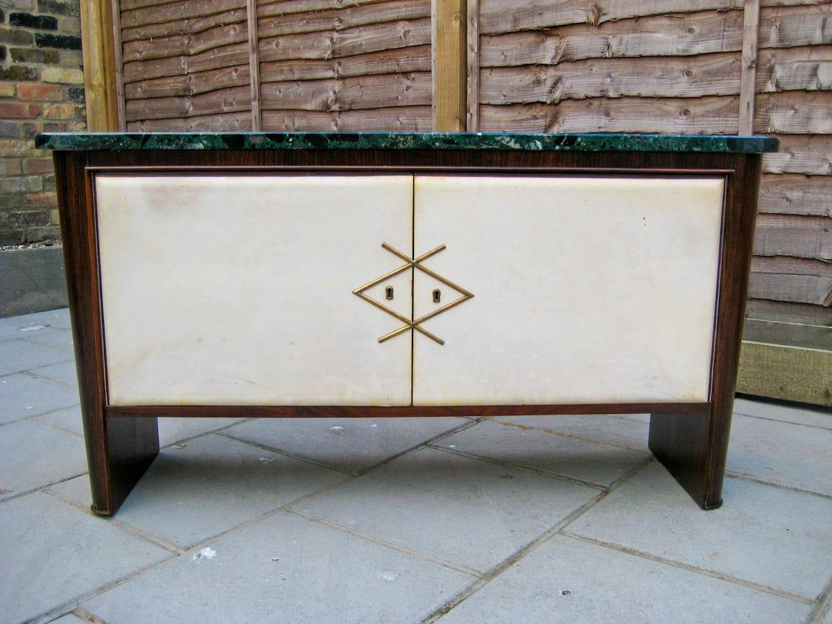 Vintage sideboard marble Italian London 1950's