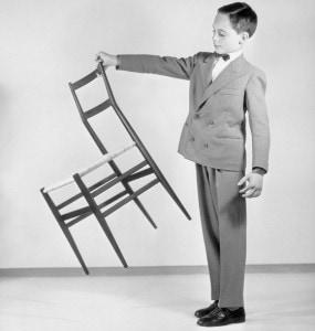 Gio Ponti Superleggera chair Italian design for Cassina 1957