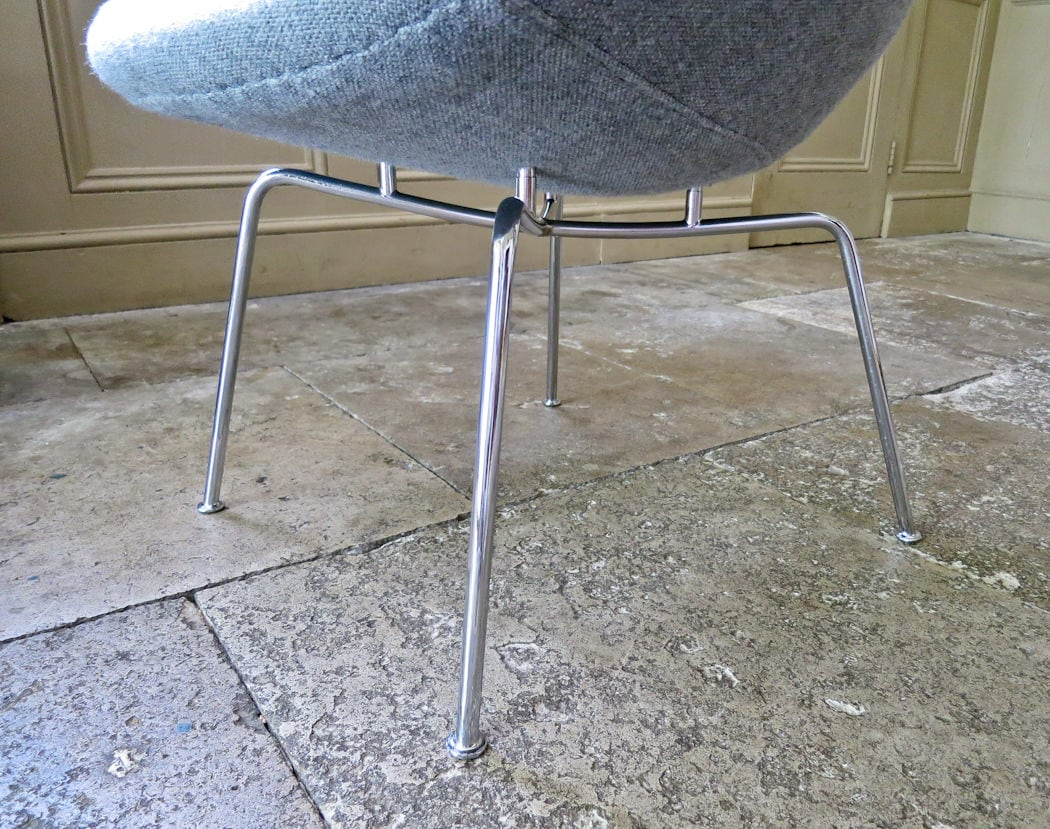 fritz Hansen Pot chair mid century armchair
