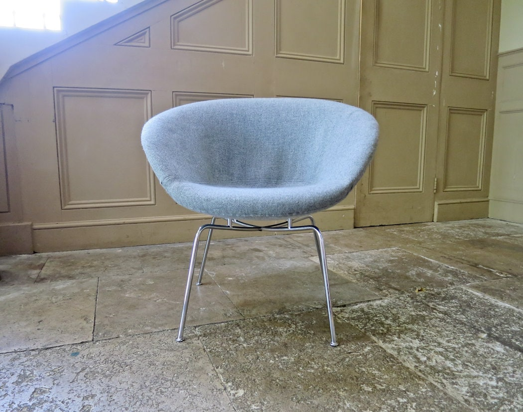 Arne Jacobsen Pot Chair Fritz Hansen Pot Chair Danish