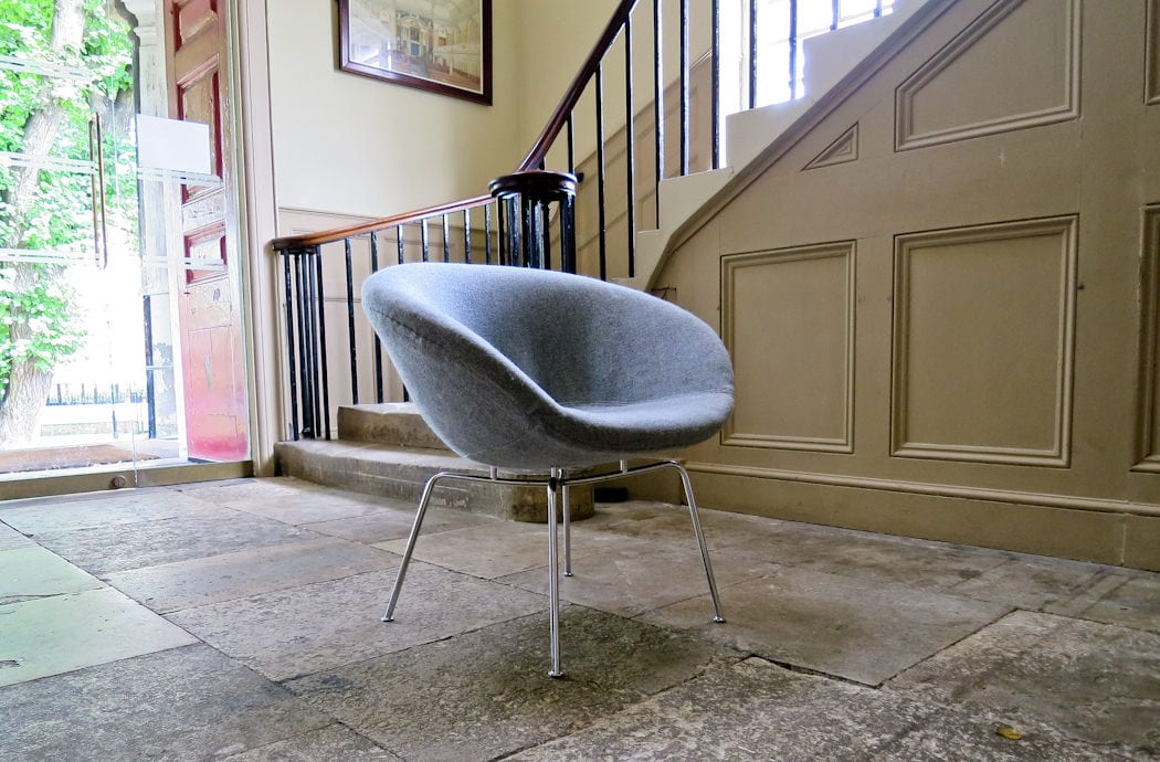 Arne Jacobsen Pot chair Fritz Hansen 1950's