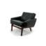 Kronen Mobilfabrikken Leif Hansen mid century armchair leather danish