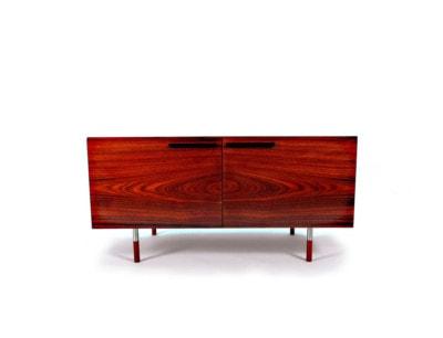 Low sideboard Danish rosewood mid century Kofod Larsen Faarup 1960's