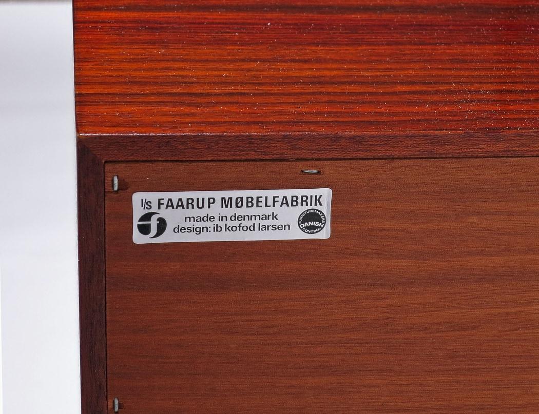 Danish sideboard rosewood Kofod Larsen Faarup 1960's