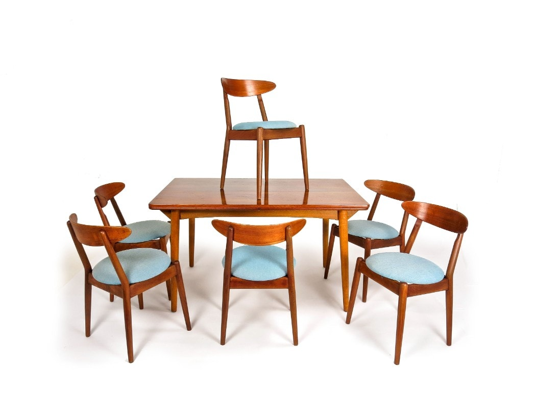 Teak Dining Chairs Danish Dining Chair Mid Century Furniture Alto Stile