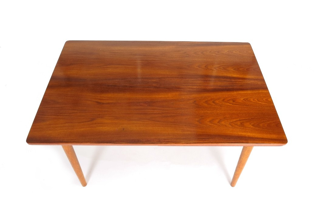 Teak mid century dining table Danish London 1950's