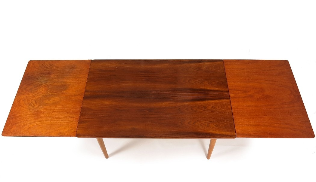 Mid century dining table London Danish Teak Oak