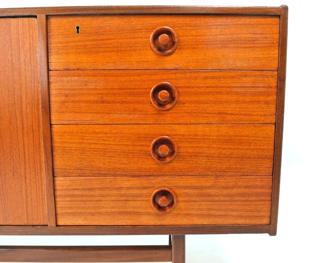Danish sideboard rosewood teak London mid century modern furniture 1950's