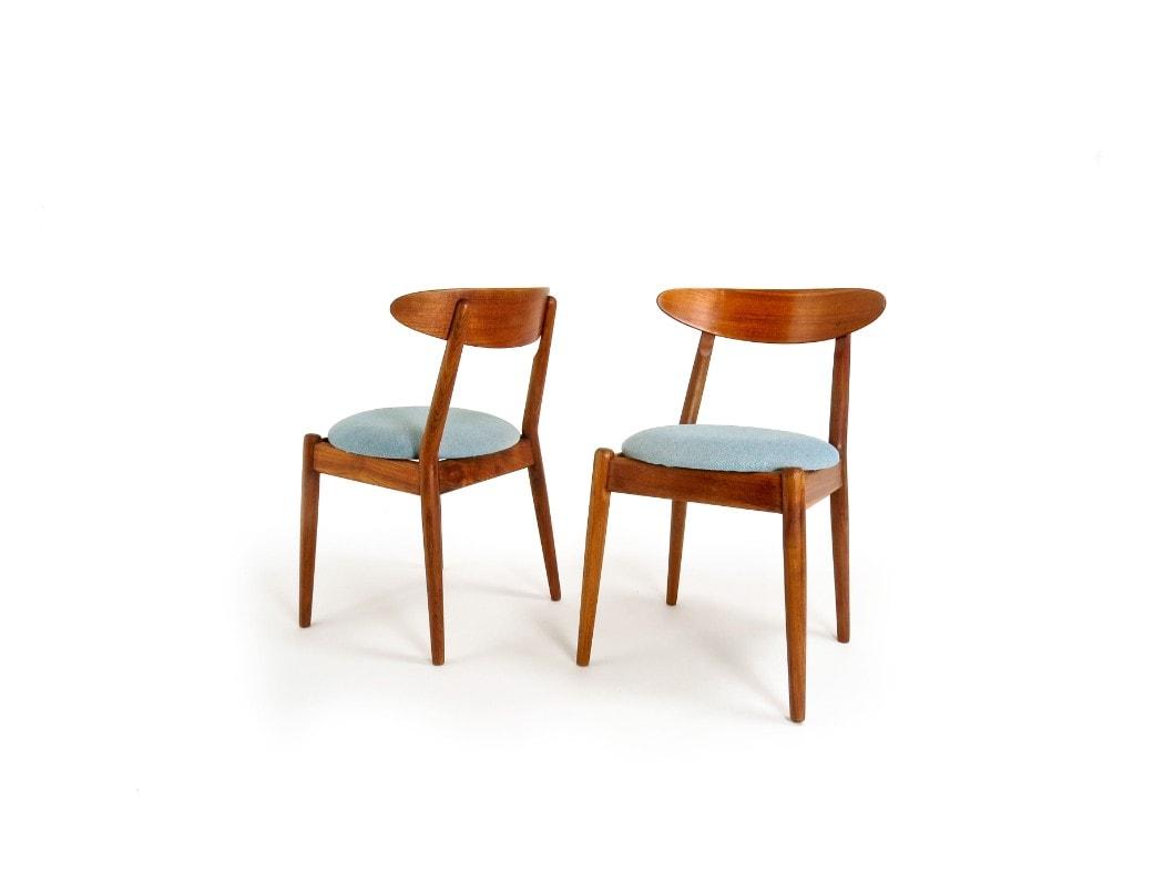 Louisiana museum modern art Danish dining chairs mid century Jeppesen