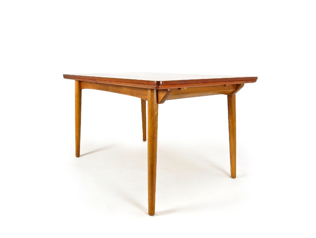 Danish dining table mid century modern furniture London 1950's