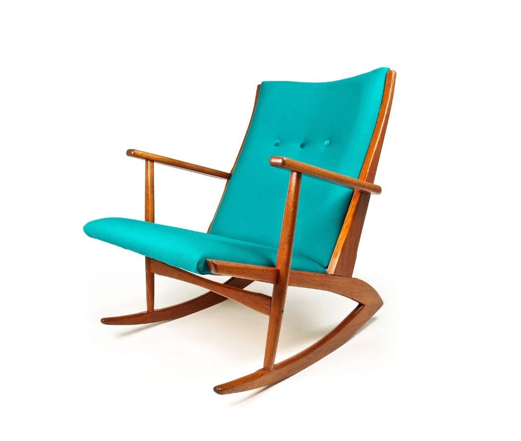 Prime Mid Century Rocking Chair Danish Armchair Teak Chair Unemploymentrelief Wooden Chair Designs For Living Room Unemploymentrelieforg