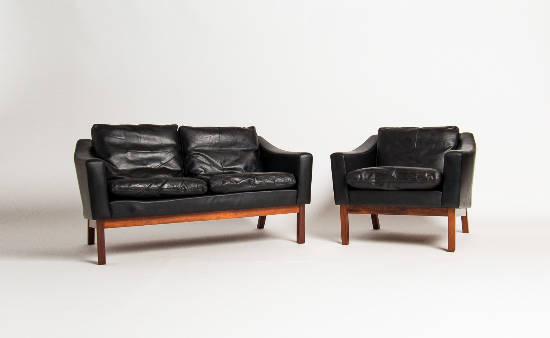 Mid Century Sofa Danish Furniture Uk Leather Rosewood