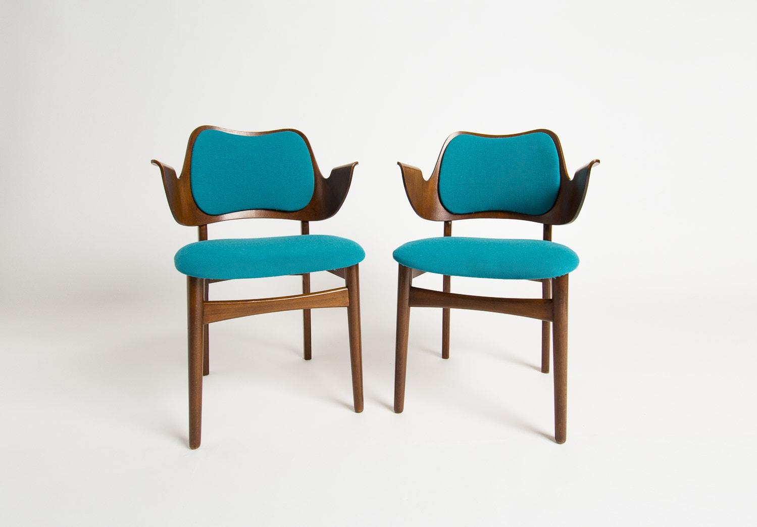 Danish furniture hans olsen shell chair mid century design UK