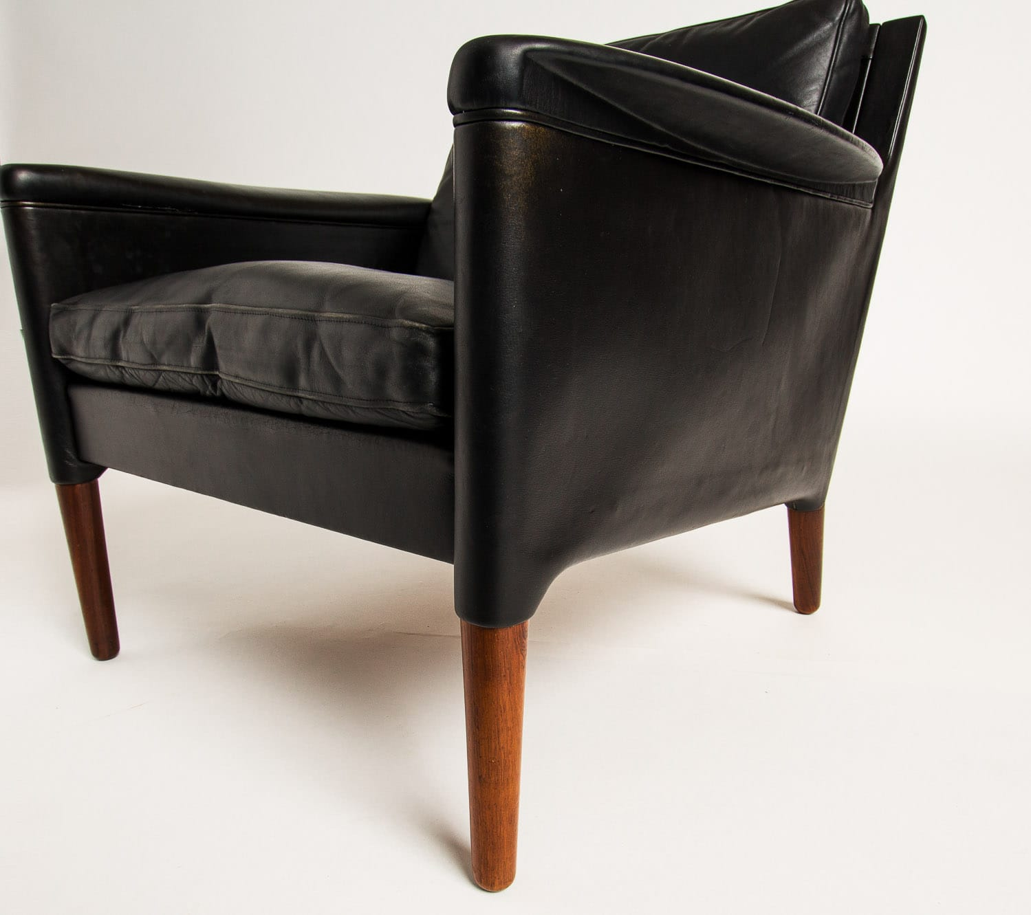 Kurt Ostervig chair Danish mid century armchair leather